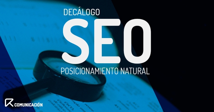 decalogo seo natural