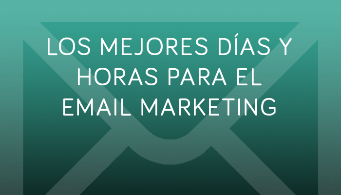 email marketing días y horas