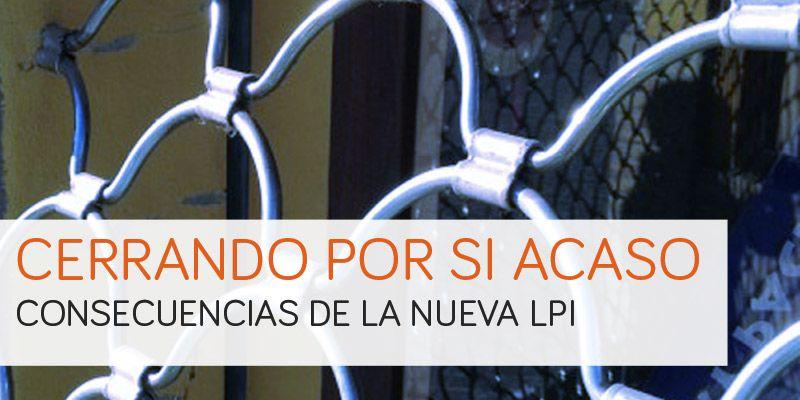 webs que cierran por la LPI
