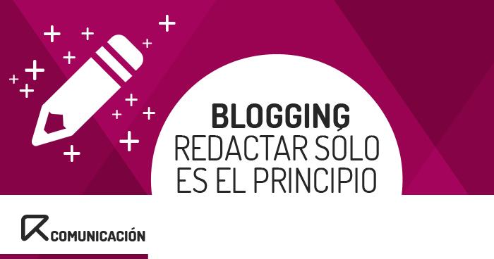 trabajos de un blogger