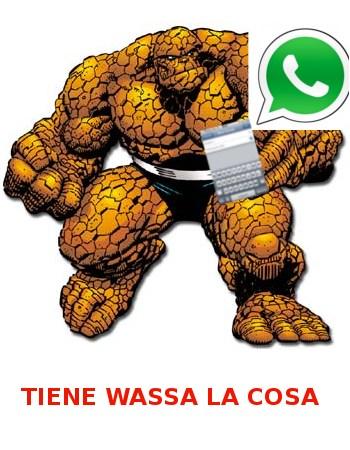 la cosa whatsapp meme
