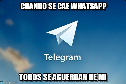 telegram vs. whatsapp meme