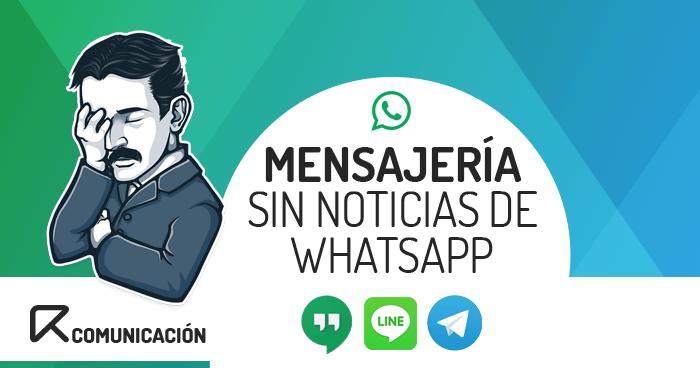 alternativas a whatsapp, telegram, apps dde mensajeríagram