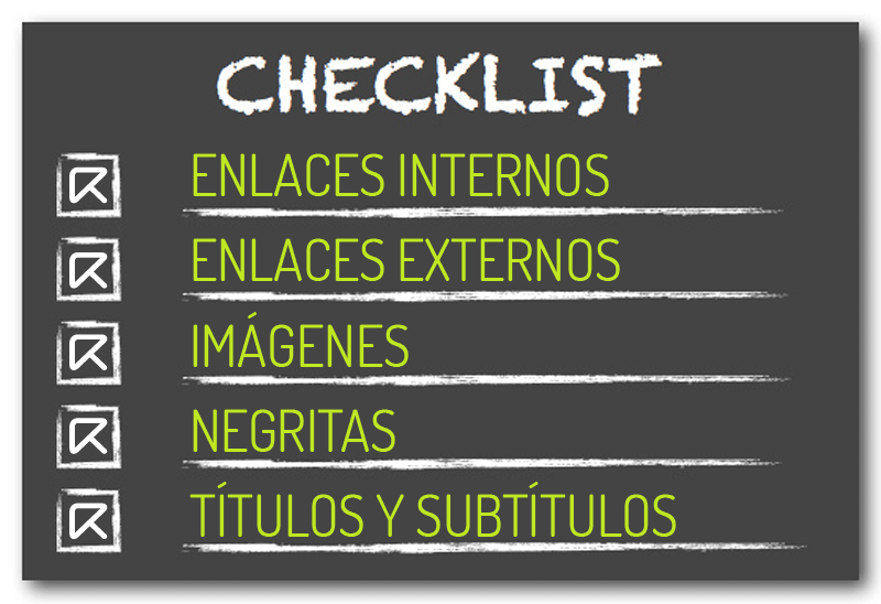 post perfecto checklist