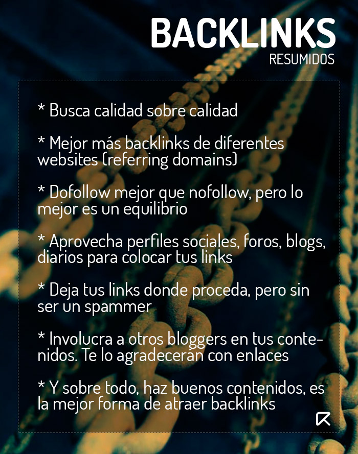 backlinks infografía
