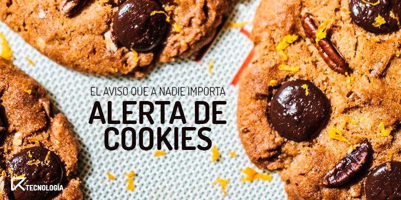 aviso de cookies