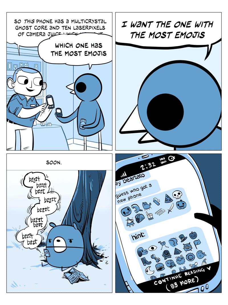 emoji paranoia
