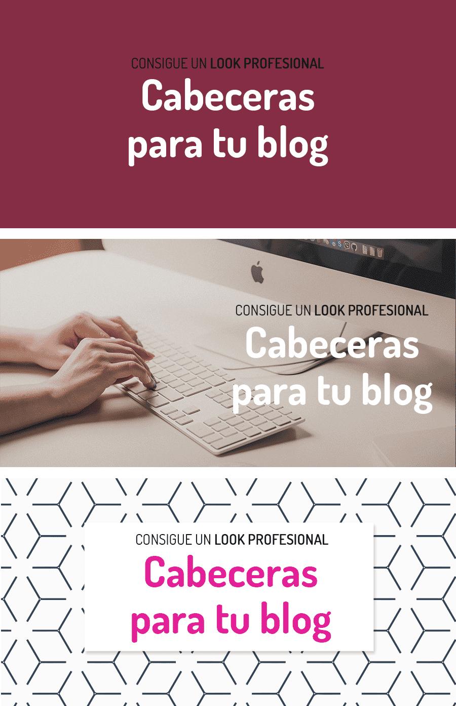 tipos de cabeceras para tu blog