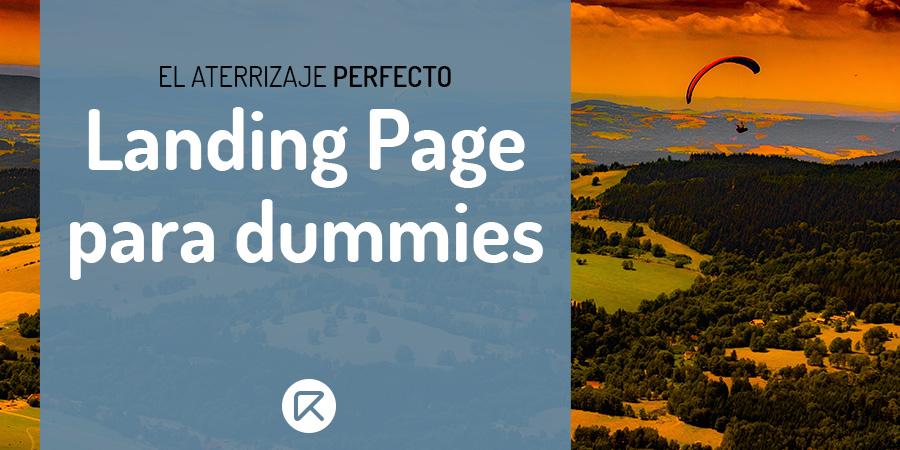 landing page para dummies