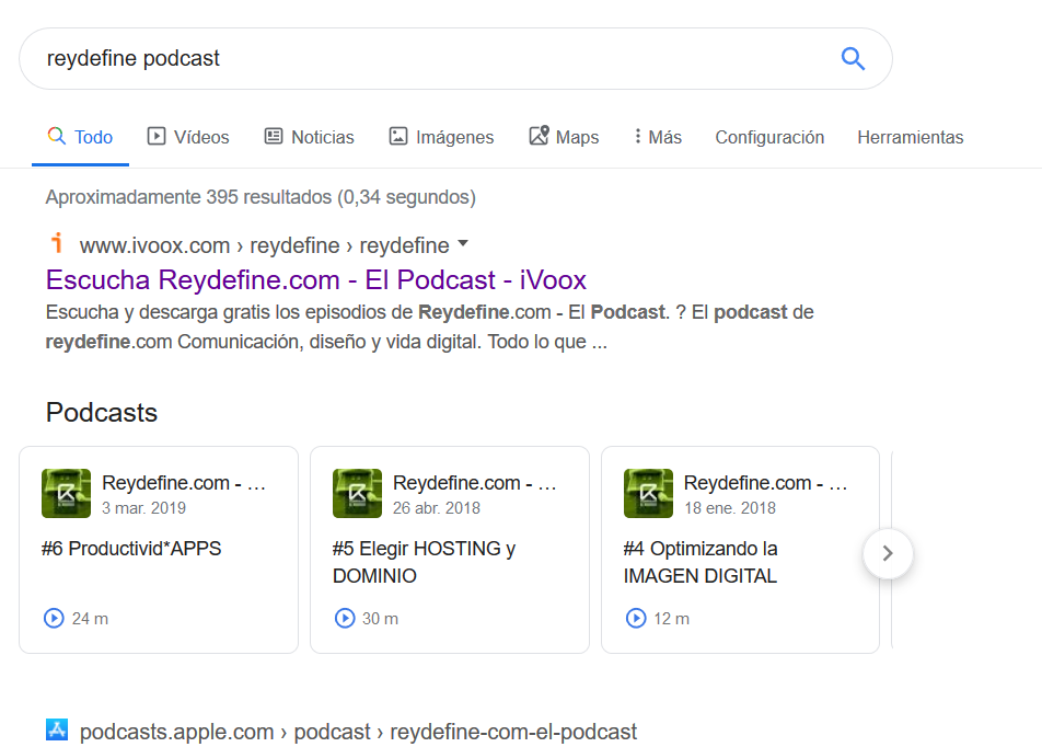 reydefine google podcasts