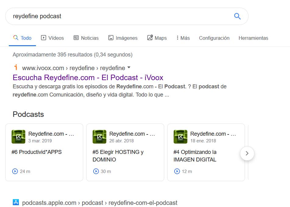 reydefine google podcasts