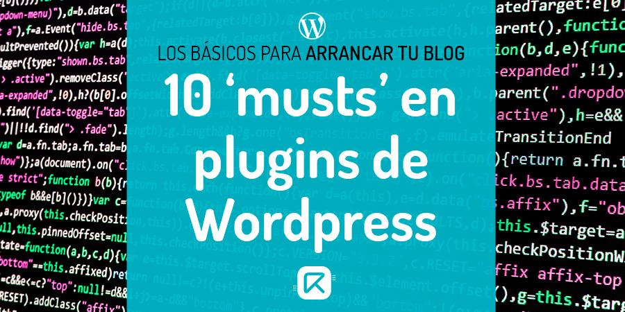 plugins de wordpress imprescindibles