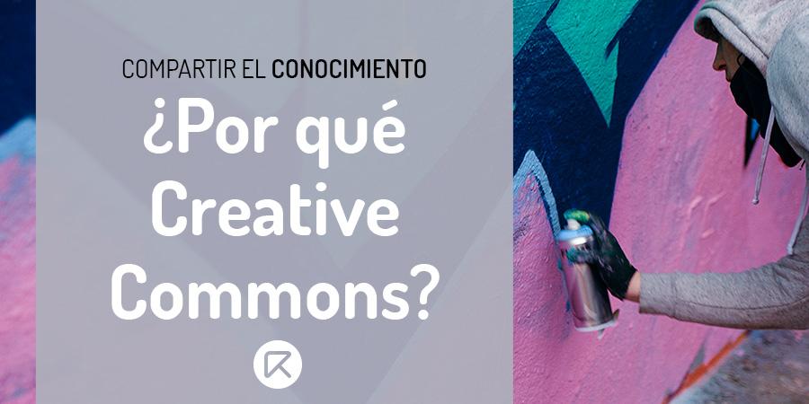 razones para usar creative commons