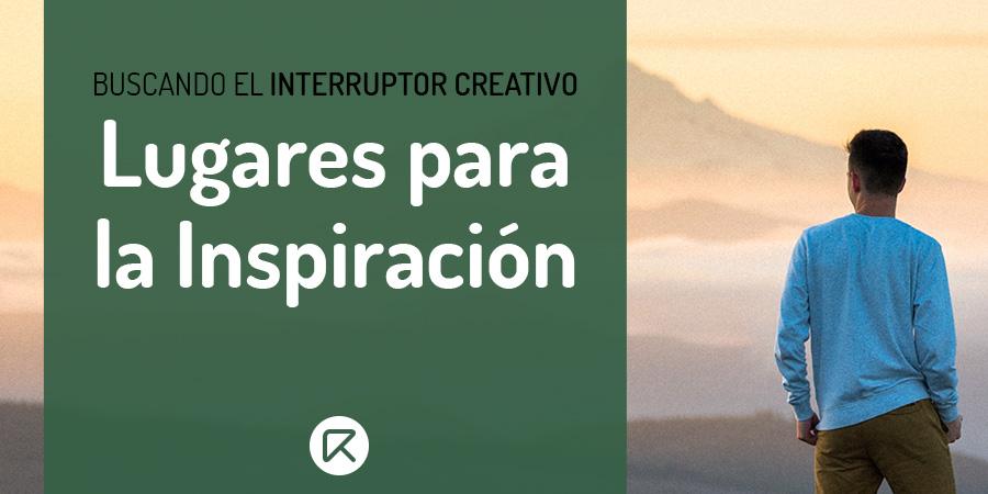 lugares para la inspiración