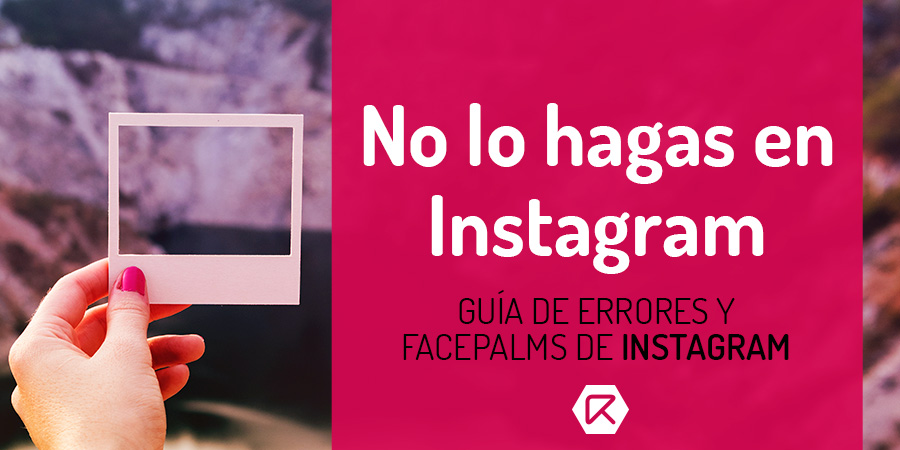 errores de instagram