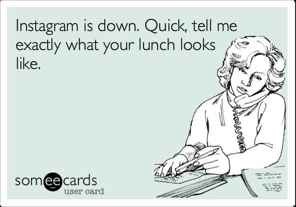 instagram meal meme