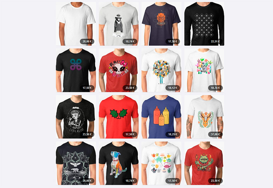 opinion de redbubble camisetas