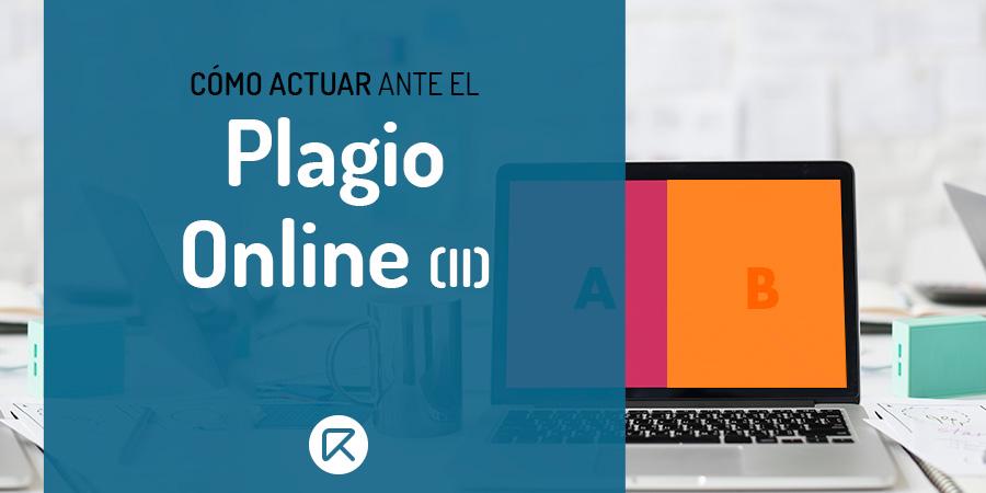 cómo actuar ante el plagio online
