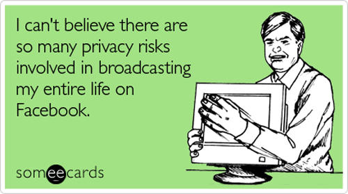 facebook privacy meme