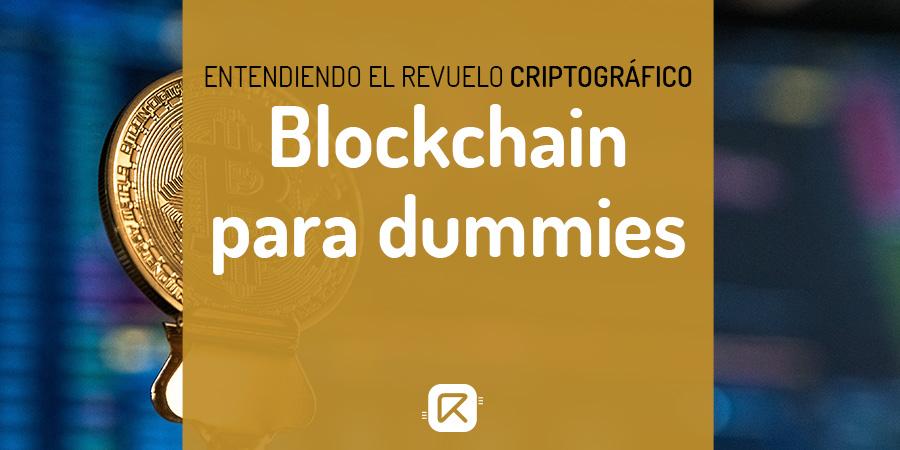 qué es el blockchain para dummies