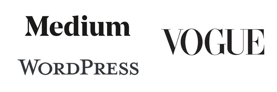 significado de las fuentes serif